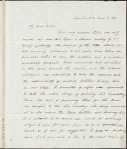 Letter from Mary Clark, Concord, [New Hampshire], to Anne Warren Weston, 1837 June 13