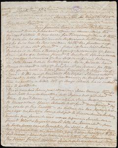 Letter from Elizabeth Pease Nichol, Darlington, [England], to William Lloyd Garrison, May 16. 1845