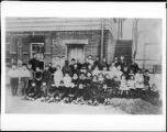 Portrait of the students of the Spring Street School, Los Angeles, ca.1860-1900