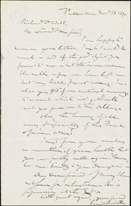 Letter from Gerrit Smith, Peterboro, [N.Y.], to Richard Davis Webb, Nov[ember] 18 1870