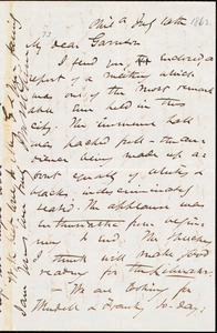 Letter from James Miller M'Kim, Phil[adelphi]a, [Pa.], to William Lloyd Garrison, July 10th [1863]