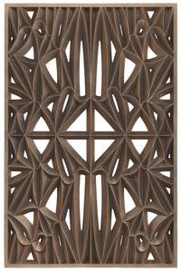 Corona panel designed for NMAAHC (Type F: 90% opacity)