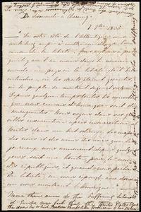 Notes by Maria Weston Chapman, [1835?]