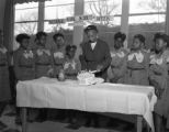 Girl Scouts at Booker T. Washington High School