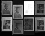 Set of negatives by Clinton Wright including Ernest Harris and Women's Progressive League, 1965