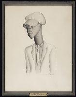 Negro boy with cap