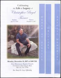 Celebrating the Life and Legacy of Christopher Beyal Turner