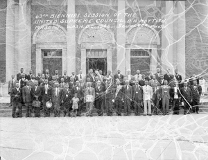 63rd Biennial Session of the United Supreme Council--A.A. Scottish Masons : acetate film photonegative