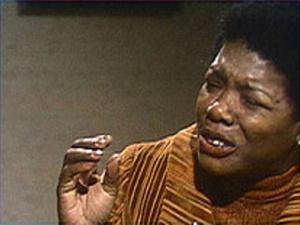 """Maya Angelou reads her poem """"Phenomenal Women"""""""