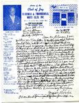 West Coast Negro Baseball Association correspondence