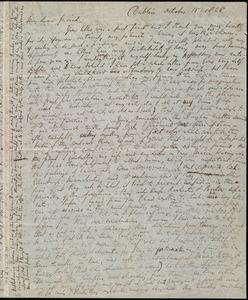 Letter from Richard Davis Webb, Dublin, [Ireland], to Caroline Weston, October 15, 1848