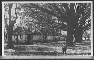 Slave quarters, the Hermitage