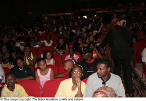 Audience Members Sitting Hip Hop Broadway: The Musical