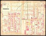 Nashville. Plate 3 from G. M. Hopkins' Atlas of Nashville (1889)