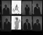 Set of negatives by Clinton Wright including portraits of debutants, Coruth's baby, and Mrs. Gwen Barnett, 1966