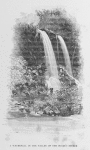 A waterfall in the valley of the Niger's source