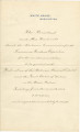 Letter from the White House in Washington, D.C., to Frederick M. Jackson, president for the Alabama Commission of the Louisiana Purchase Exposition.