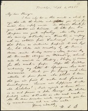 Letter to] My dear Henry [manuscript