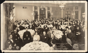 Armenian Evangelical Church of New York banquet in celebration of the fortieth anniversary of the formal organization of the church