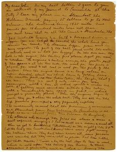 Transcript of letter from Thomas Falconer to John David Falconer, December [January] 5, 1841 Thomas Falconer Correspondence
