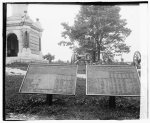 [Markers showing number of casualties during the Battle of Chattanooga at Chickamauga and Chattanooga National Military Park]