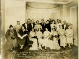 Portrait of Florence Price with Sixteen Other People at 1934 Party in Honor of Maude R. George