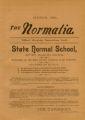 The Normalia, 1893-03