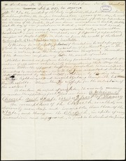 Extract of a speech by William Lloyd Garrison in Providence, RI] [manuscript