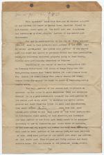 Agreement between J. W. Johnson and Dana A. Dorsey and Associates