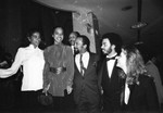 Entertainers at charity event, Los Angeles, 1982