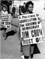 Segregation protest
