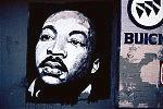MLK Jr. mural, Avalon Auto Repair, Colden Avenue, by Avalon Blvd., Los Angeles, 2005