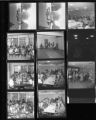 Set of negatives by Clinton Wright including Winfrey's class at Matt Kelley, Thanksgiving dinner, Memphis Convention, and Tony Wright, 1968
