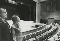 President Strider and Mrs. Strider at Strider Theater