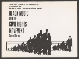 Invitation: Black Music and the Civil Rights Movement Concert Black Music and Civil Rights Movement Concert - Eartha Kitt