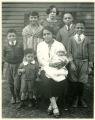 Bessie Hooks and children