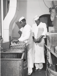 Negro bus-boy dishwashers, Investment Pharmacy, Washington, D.C., July 1941