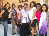 Spelman SIS Students with Darlene Clark, circa 2009