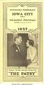 Iowa City Independent Chautauqua official program, Iowa City, Iowa, Aug. 13-18, 1927