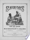 Slavery Days : waltz