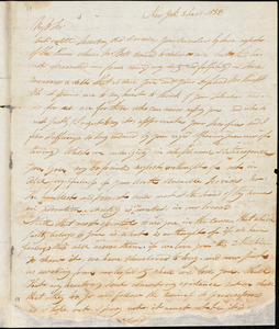Letter from William F. Jeffers, New York, [New York], to William Lloyd Garrison and Isaac Knapp, 1833 Dec[embe]r 3