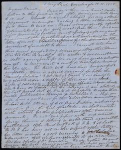 Letter from Eliza Wigham, Edinburgh, to Samuel May, 12.11.1858
