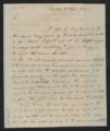 Governors' Papers: William Hawkins Correspondence, June 1812