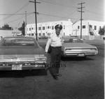 Man in uniform, Los Angles, 1975