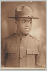 Photographic portrait of Lt. Charles J. Blackwood
