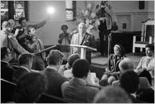 Martin Luther King, Sr. Press Conference