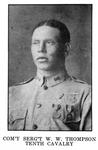 Com'y Serg't W. W. Thompson, Tenth Cavalry