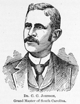 Dr. C. C. Johnson; Grand Master of South Carolina