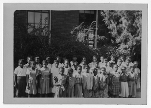 Photograph of African American Girl Scouts, Manchester, Georgia, 1953
