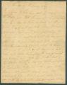Letter from John F. Lovett to James Dellet in Claiborne, Alabama.